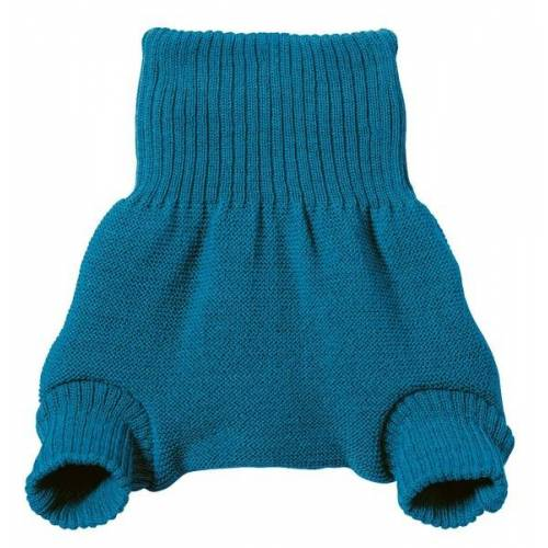 Disana Baby / Kleinkind Wollwindelhose blau 98/104