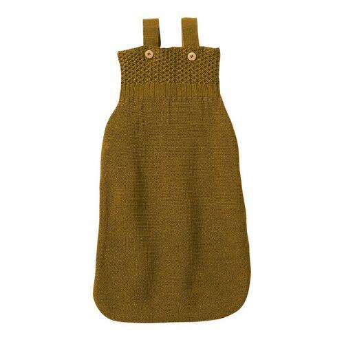 Disana Baby Strick-schlafsack gold 02 (75 cm mit träger)