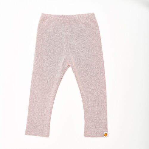 """Cheeky Apple Leggings """"Dotties"""" Aus 100% Bio-baumwolle dotties pink 110/116"""