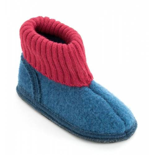 Bacinas Hohe Hausschuhe Für Kinder blau/rot 34