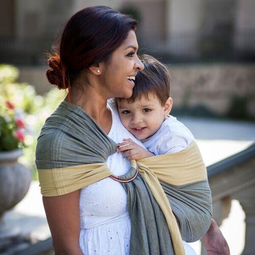 Mama Nuka– Dein Babytragetuch Sunna Sling - Veganer Ring Sling