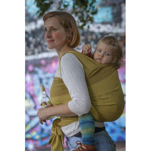 """Mama Nuka– Dein Babytragetuch Veganes Babytragetuch """"Sóley"""" 100% Bio-baumwolle  4,10 m"""