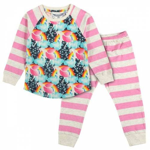 PAPER WiNGS Rainbow Unicorn Pyjama  104-110