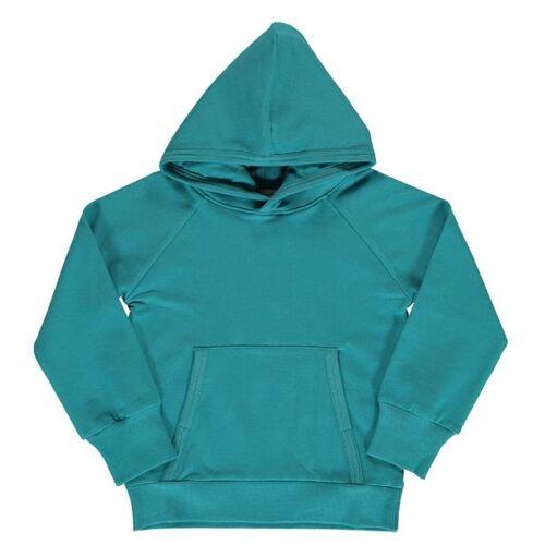 Maxomorra Sweat Hoody Artic Blue Kapuze Gots blue 110/116