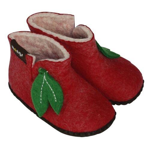 mongs® Hausschuhe - Baby Mongs Rot rot 28