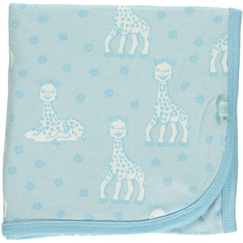 Smafolk Babydecke Sophie La Girafe blau
