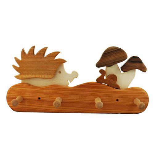 Mitienda Shop Kindergarderobe Aus Holz   Igel