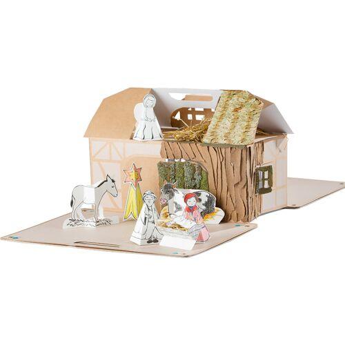 4betterdays Spielhaus Aus Karton Für Kinder Ab 3 Jahren - Zum Basteln Und Spielen