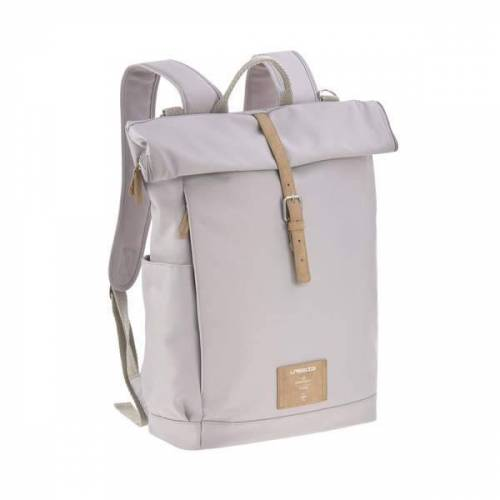 Lässig Green Label Wickelrucksack -Wickeltasche- Rolltop Backpack grey