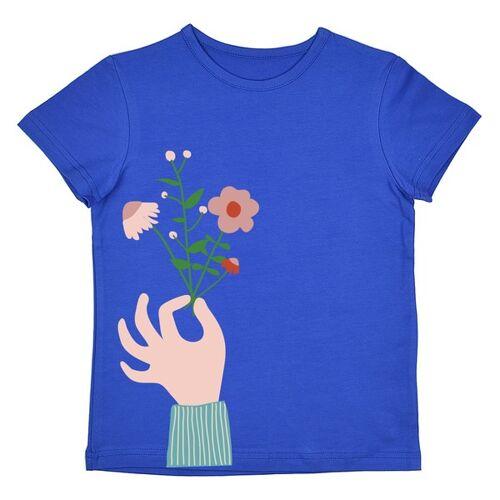Baba Babywear T-shirt Flower Royalblue royalblue 134