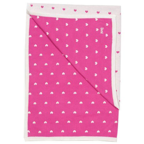 Kite Clothing Kite Baby Decke Herzchen Reine Bio-baumwolle herzchen 90 x 75 cm