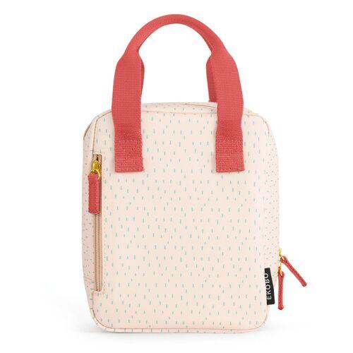 EKOBO Isolierte Lunchbag Mit Henkel blush