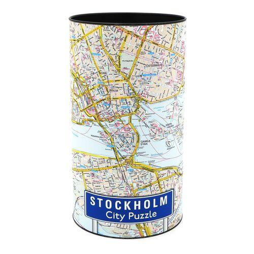 Extragoods City Puzzle - Stockholm