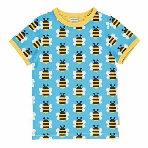 maxomorra Kurzarm T-shirt Bienen Humble Bumblebee  98/104