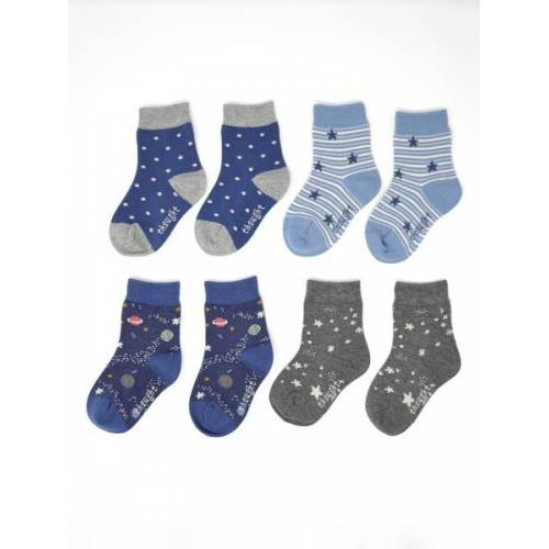 Thought l Braintree 4er Set Socken - Twinkle Kids Sock Box blau (multi) 2-3 jahre