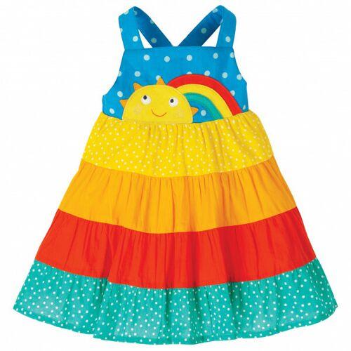 Frugi Trägerkleid Sun Dress Rainbow Regenbogen regenbogen 92/98