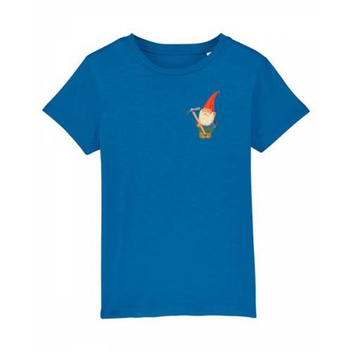 wat? Apparel Gartenzwerg   T-shirt Kinder royal blue 110-116
