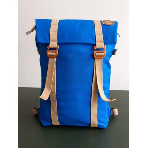 superranzen Rucksack Daypack Superranzen Vegan Air Ocean Blue & Sand orange