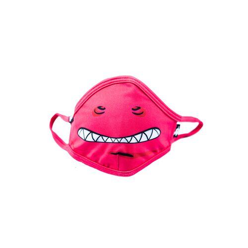 WeeDo Kinder Mund-nasen-maske Aus Recyceltem Polyester Lilido Monster Pink pink L