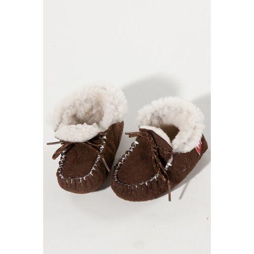 Apu Kuntur Kinder-fell-pantoffeln- Hausschuhe  24