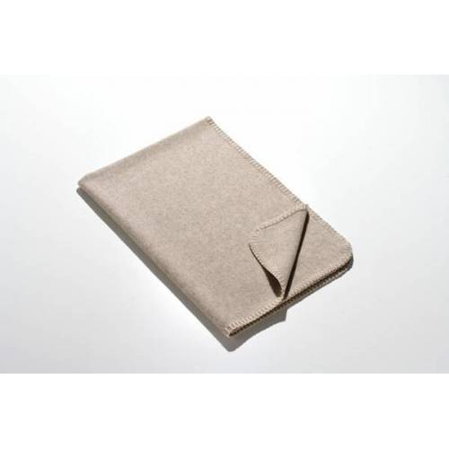 Kaipara - Merino Sportswear Die Kleine Decke - Merino-decke 70 Cm x 100 Cm (270g) grau