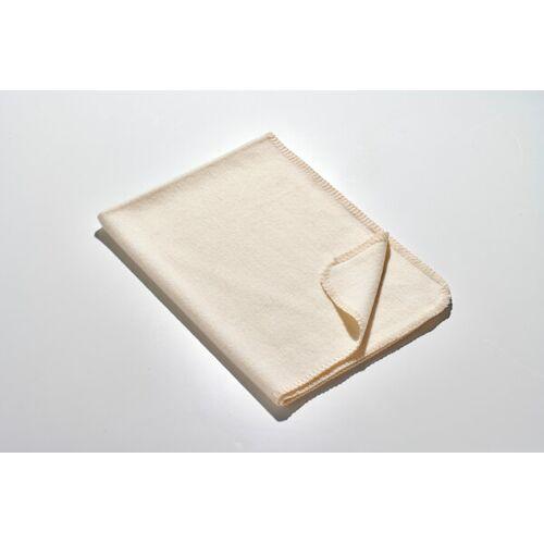 Kaipara - Merino Sportswear Die Kleine Decke - Merino-decke 70 Cm x 100 Cm (270g) weiß