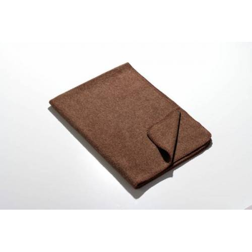Kaipara - Merino Sportswear Die Kleine Decke - Merino-decke 70 Cm x 100 Cm (270g) braun