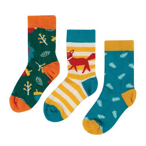 Frugi Kinder Socken 3er-pack  35-38
