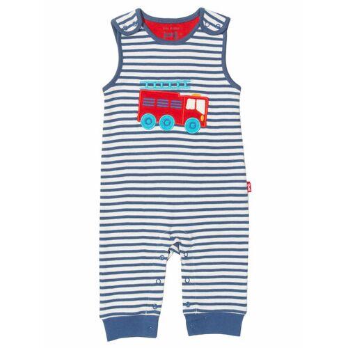Kite Clothing Kite Baby Latzhose Feuerwehr Reine Bio-baumwolle streifen/blau/weiß 86