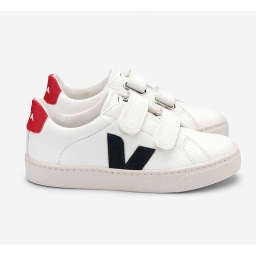 Veja Sneaker Kinder - Esplar Kids Leather - Extra White Nautico Pekin weiß 31