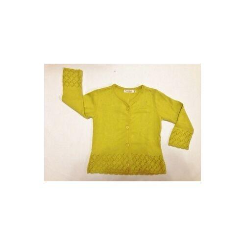 Lana naturalwear Strick-jacke Gina Akazie akazie 104