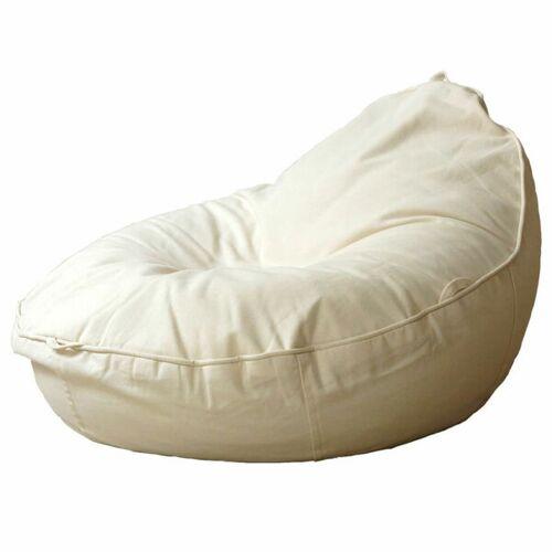 Baby EcoEgg® Baby Sitzsack Mit Bio Dinkelspreu - Baby Ecoegg® cremeweiß