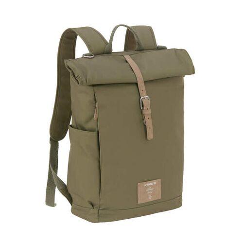 Lässig Green Label Wickelrucksack -Wickeltasche- Rolltop Backpack olive