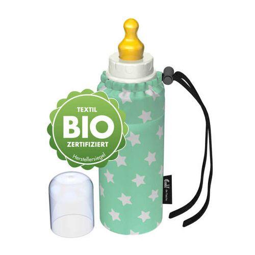 Emil die Flasche Babyflaschen-set 250 Ml Bio-baumwolle sterne mint 250 ml