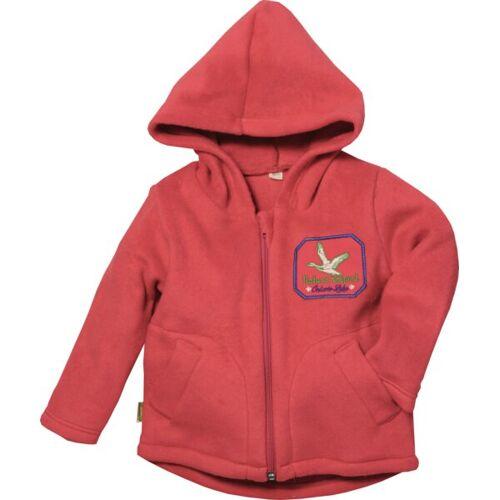 Lotties Kinder Kapuzenjacke Bio Fleece Rot Oder Blau 86/92-122/128 rot 86/92