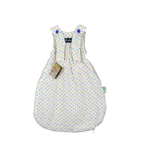 Lotties Bambini Baby Schlafsack Bio Baumwolle Ver. Farben 55-90 Cm bunte punkte 55 cm