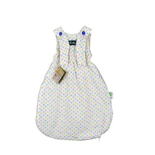 Lotties Bambini Baby Schlafsack Bio Baumwolle Ver. Farben 55-90 Cm bunte punkte 90 cm