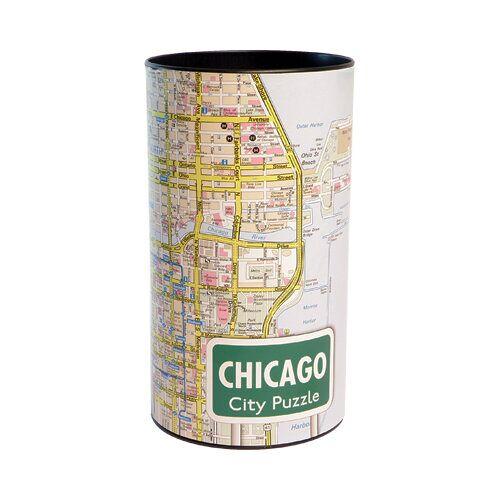 Extragoods City Puzzle -Chicago