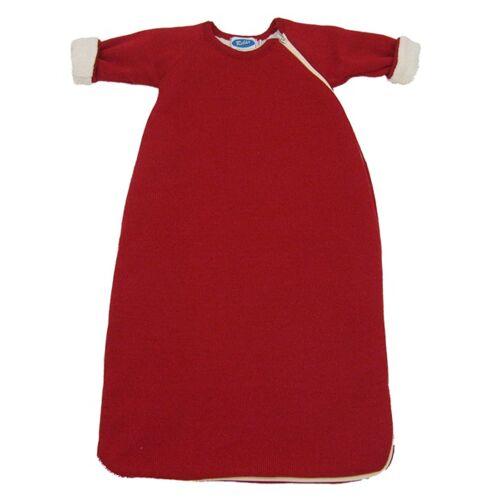 Reiff Fleece-schlafsack Mit Arm Für Zimmertemperatur Von 15-21 °C burgund 98/104