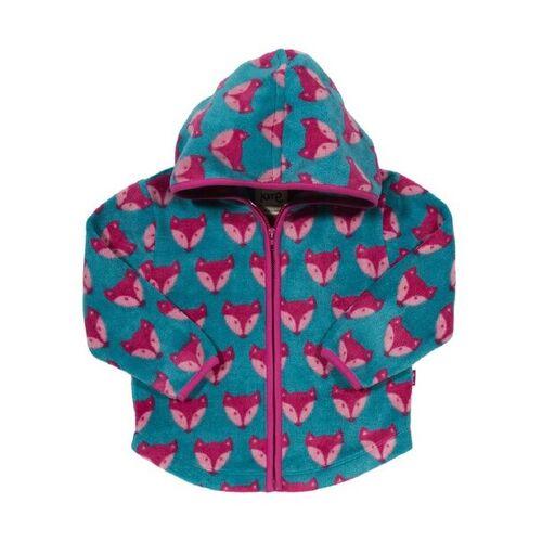 Kite Baby u. Kinder Fleece Jacke Mit Kapuze Blau Pink Schadstoffgeprüft blau pink 80