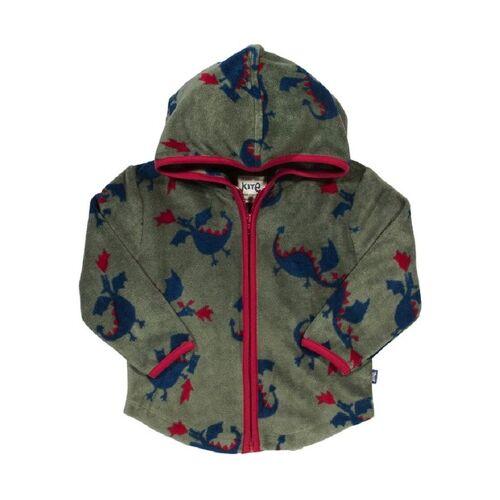 Kite Baby u. Kinder Fleece Jacke Mit Kapuze Grün Mit Muster Schadstoffgeprüft blau pink 68