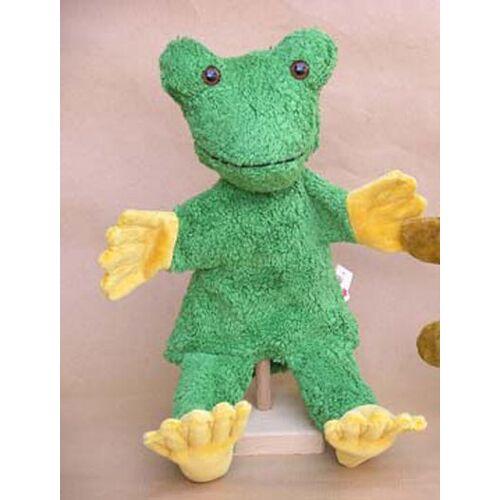 Kallisto Handpuppe Frosch Vegan