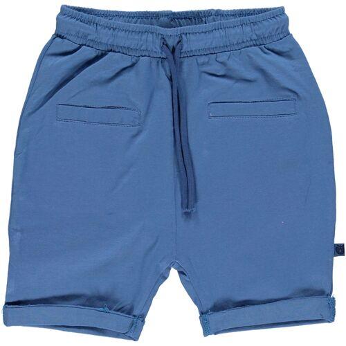 Smafolk Baby Shorts Blau Gots blau 68