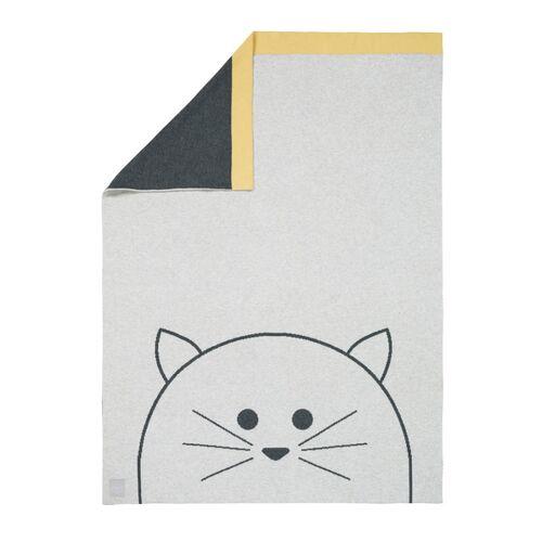 Lässig Babydecke Little Chums Cat 100 % Bio-baumwolle 70 X100 Cm