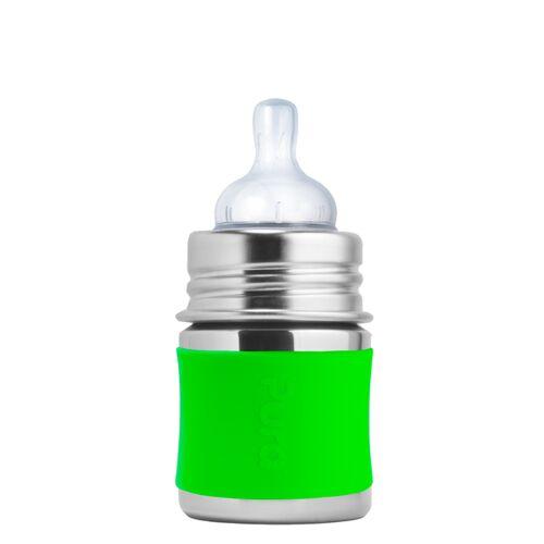 Pura Kiki Babyflasche 125 Ml grün