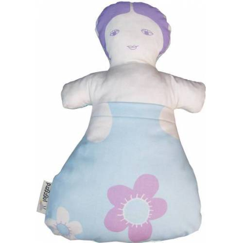 ingegerd Puppe Blau blau