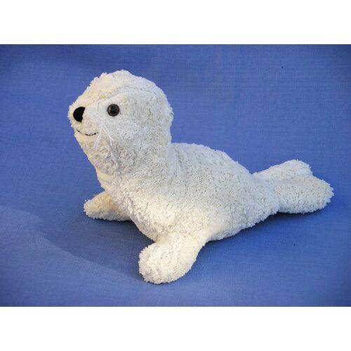 Kallisto Kuscheltier Robbe Weiß weiß