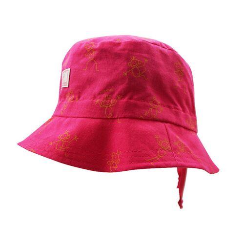 Pickapooh Fischerhut Strichmännchen pink strichmännchen 50
