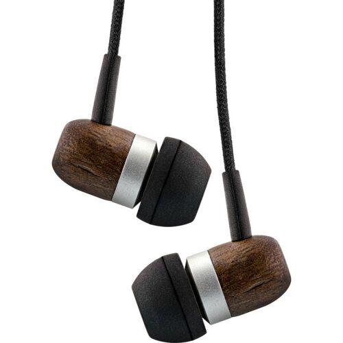 Inline Wood In Ear Headset