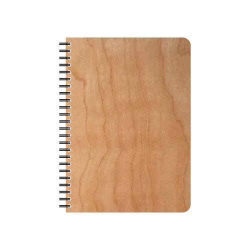 echtholz Wiederbefüllbarer Echtholz Schreibblock  din a5
